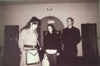 Don Bolles, Bridget Marrin, & Johannes Auvinen at Foshay Masonic Lodge, Culver City 1998?